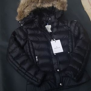 moncler coat fox fur